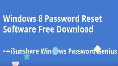 windows 8 password reset free